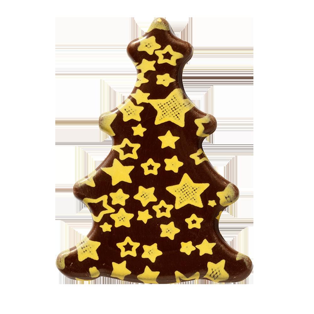 Navidad - Christmas tree with stars