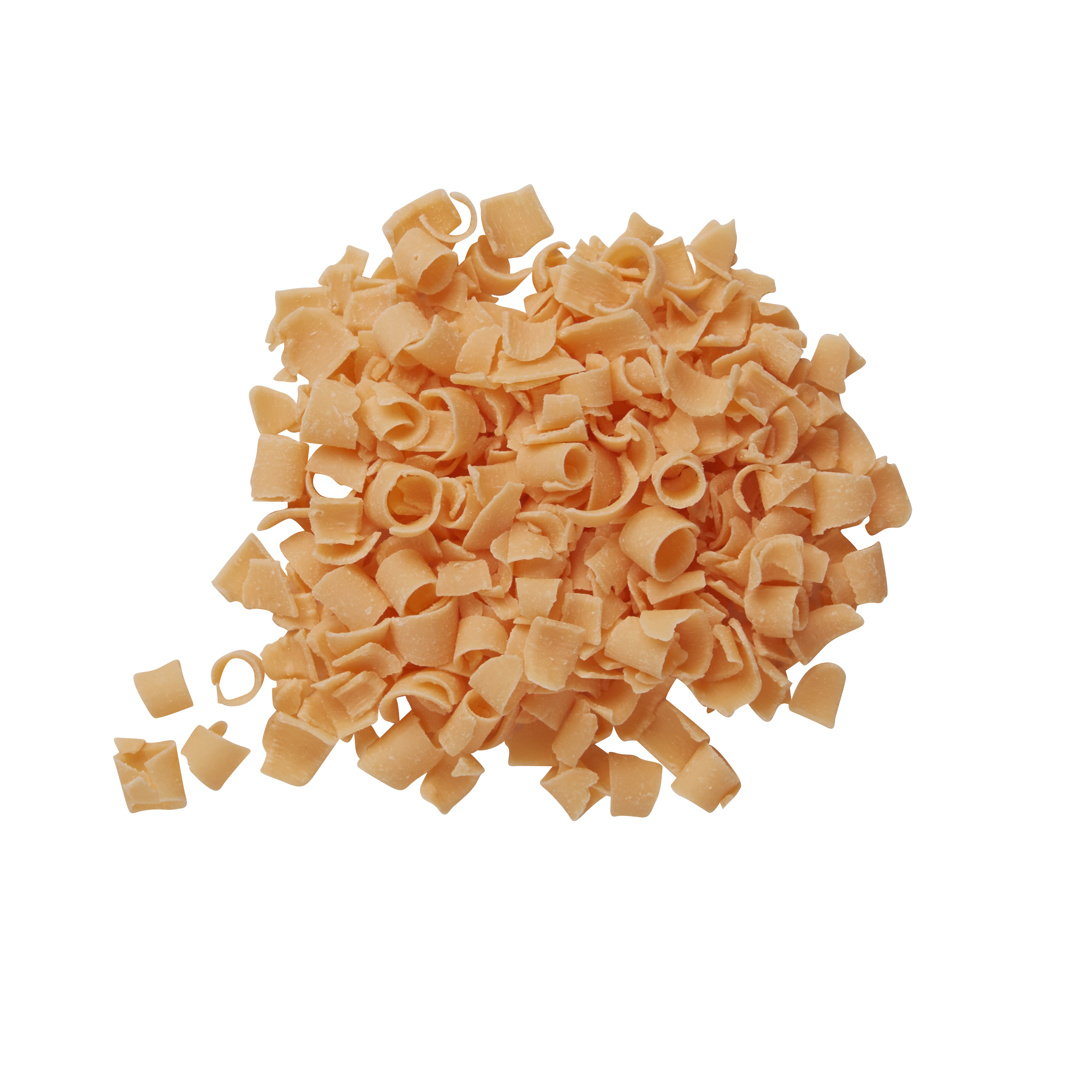 Blossoms - Pastel Orange Décor Curls