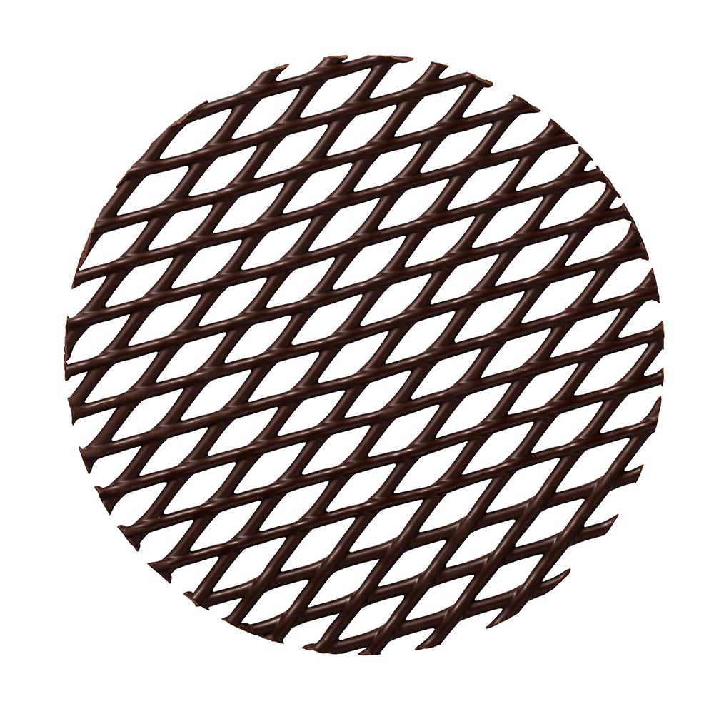 Grids - Dark Chocolate Cake Tops