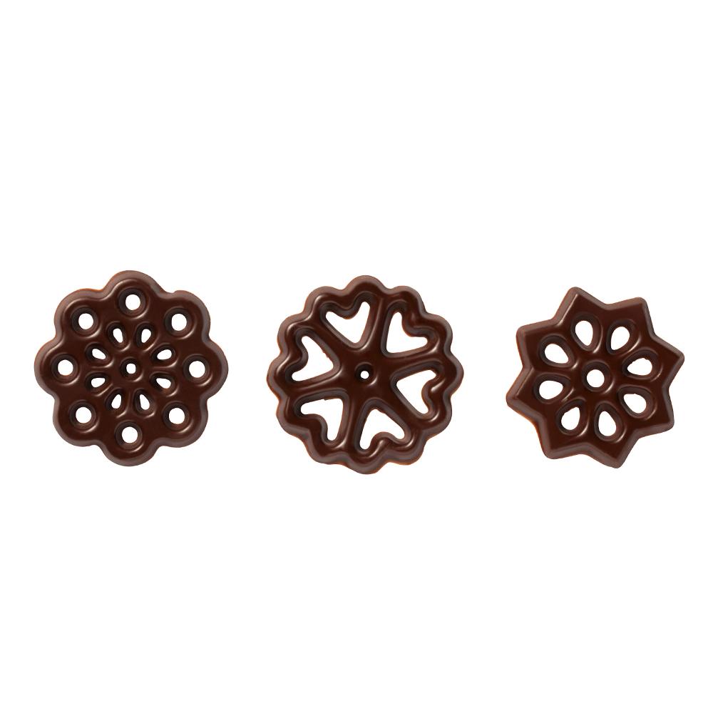 Open decoraties - Dark Chocolate Figurettes Assortment