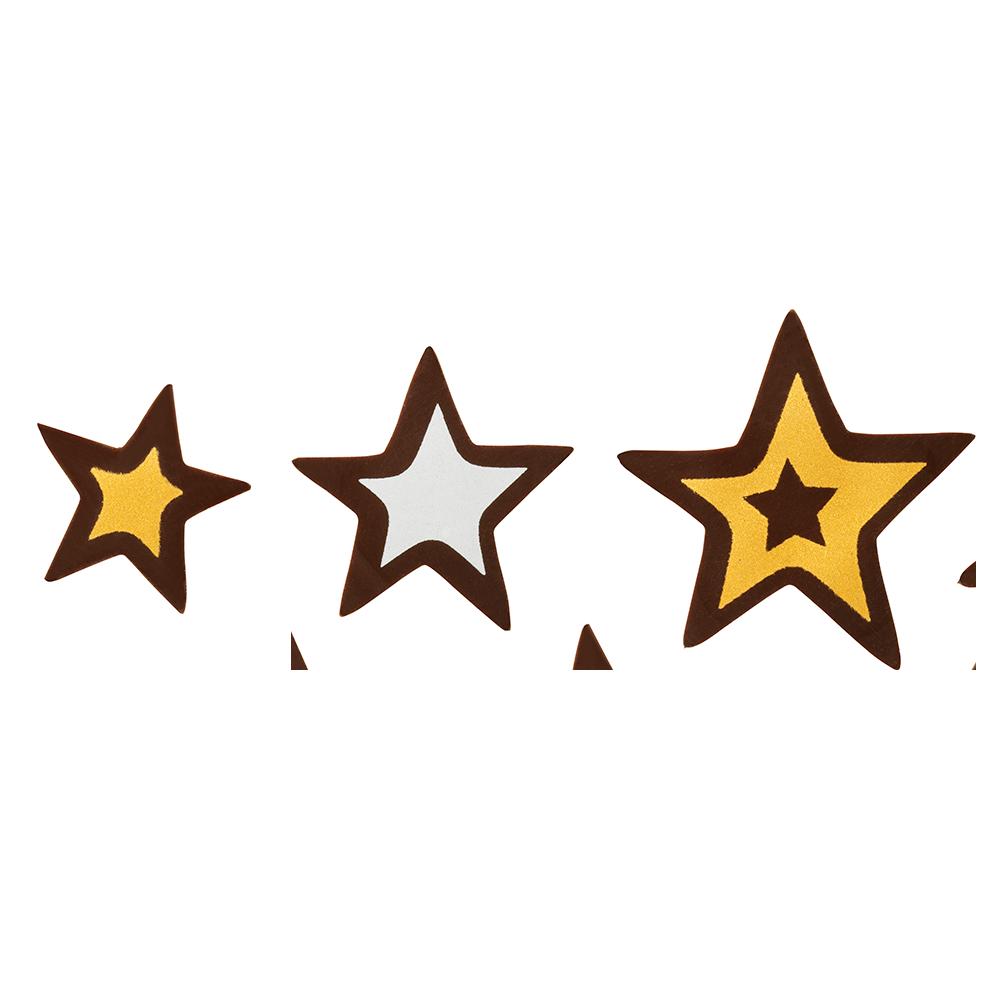Navidad - Glitter Stars Assortment