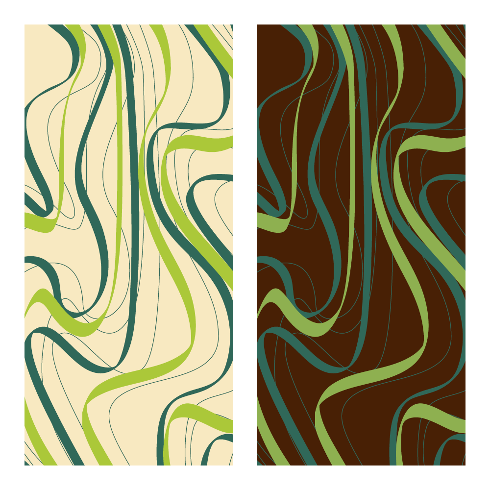 Transfer sheet - Transfer Sheets Green Waves