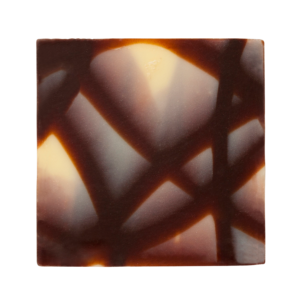 Decoraciones exclusivas - Marbled Chocolate Jura Squares