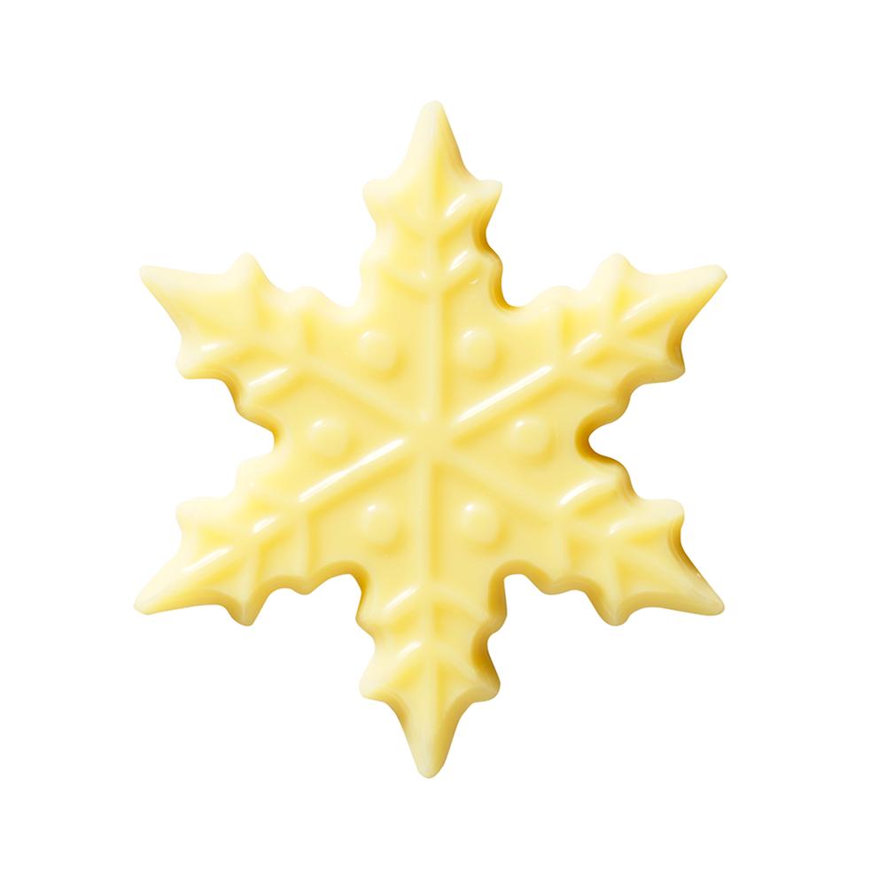 Christmas / Winter - White Chocolate Snowflake 6cm